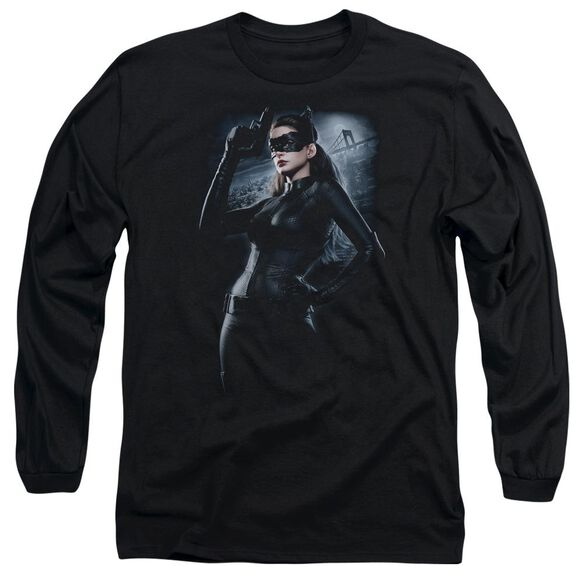 Dark Knight Rises Out On The Town Long Sleeve Adult T-Shirt