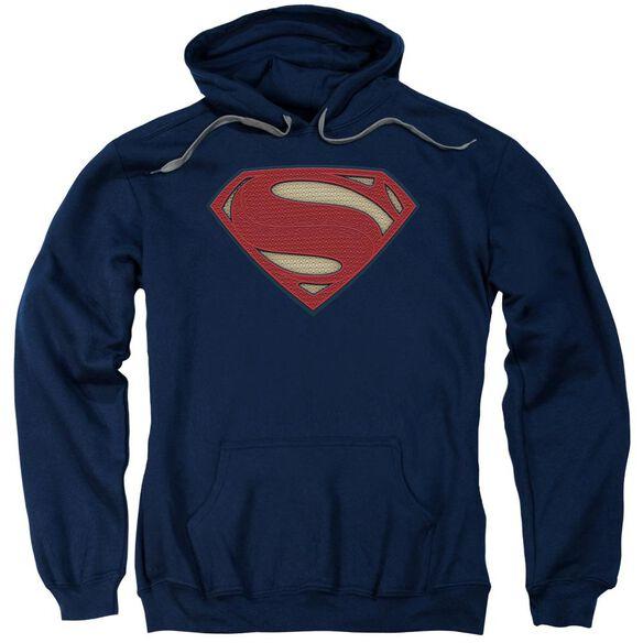 Batman V Superman Super Movie Logo Adult Pull Over Hoodie