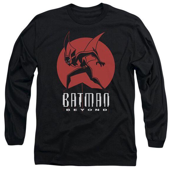 Batman Beyond Perched Long Sleeve Adult T-Shirt