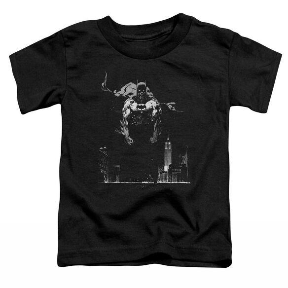 BATMAN DIRTY CITY - S/S TODDLER TEE - BLACK - T-Shirt