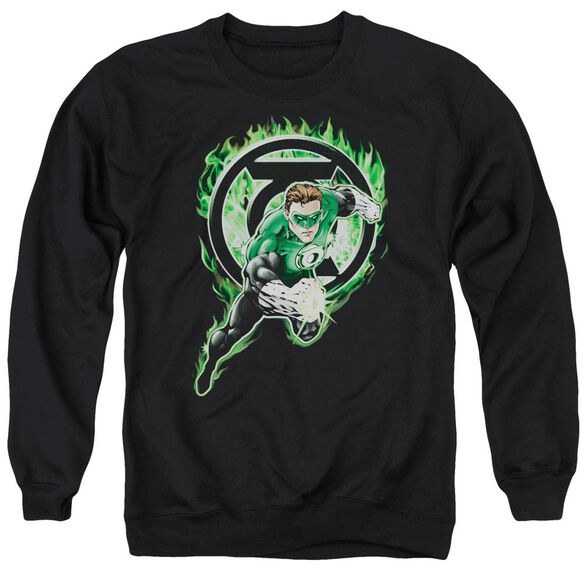 Green Lantern Space Cop Adult Crewneck Sweatshirt