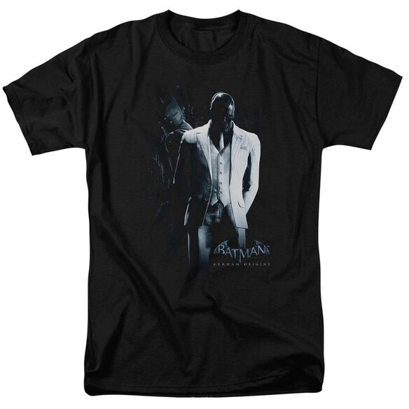 Batman Arkham Origins Mask Short Sleeve Adult T-Shirt