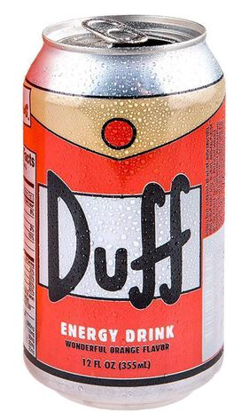 Simpson's Duff Energy Drink [12 fl oz can]
