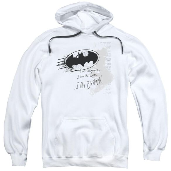 Batman I Am Vengeance Adult Pull Over Hoodie