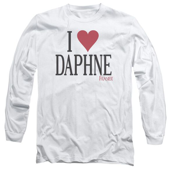 Frasier I Heart Daphne Long Sleeve Adult T-Shirt