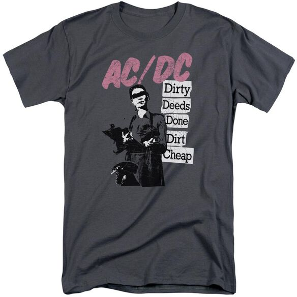 Acdc Dirty Deeds Short Sleeve Adult Tall T-Shirt