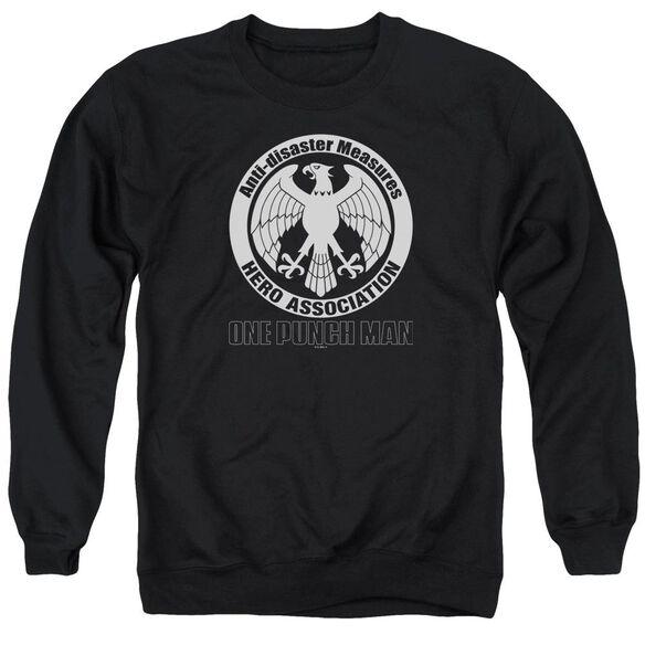 One Punch Man Hero Association Logo Adult Crewneck Sweatshirt