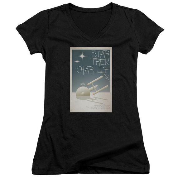 Star Trek Tos Episode 2 Junior V Neck T-Shirt