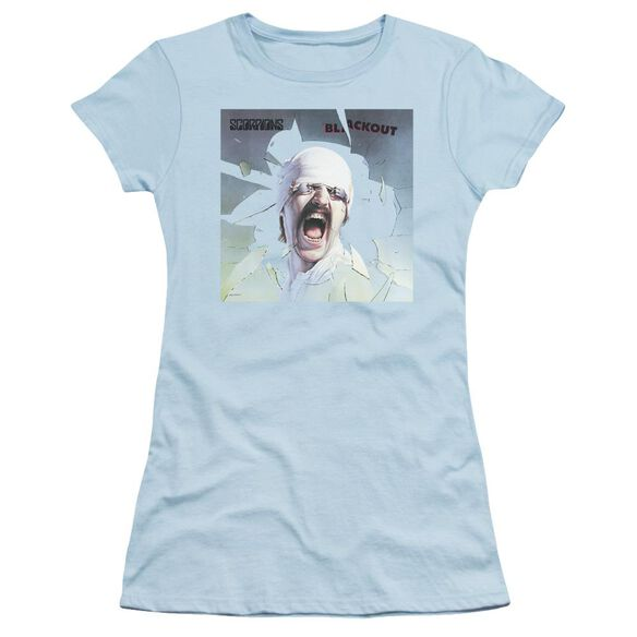 Scorpions Blackout Short Sleeve Junior Sheer Light T-Shirt