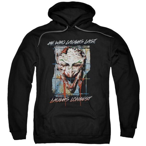 Batman Just For Laughs Adult Pull Over Hoodie
