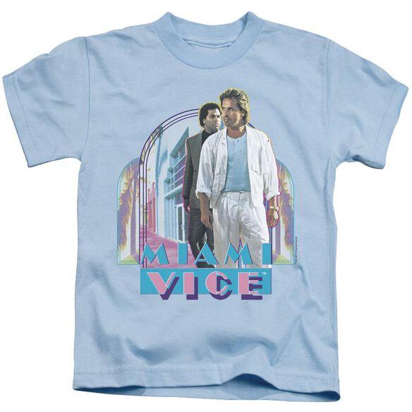 Miami Vice Miami Heat Short Sleeve Juvenile Light T-Shirt