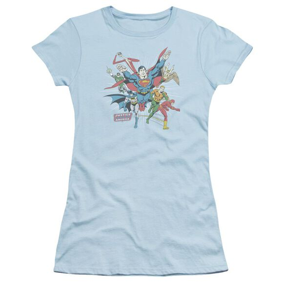 Dc Lead The Charge Short Sleeve Junior Sheer Light T-Shirt