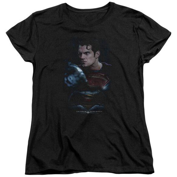 Batman V Superman Super Angry Short Sleeve Womens Tee T-Shirt