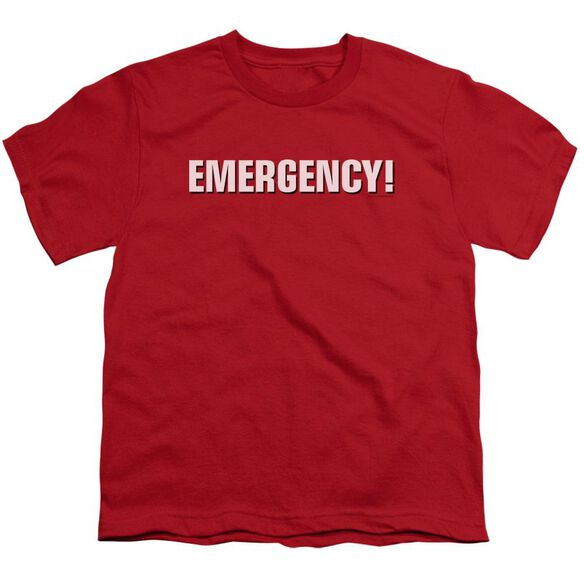 Emergency Logo Short Sleeve Youth T-Shirt