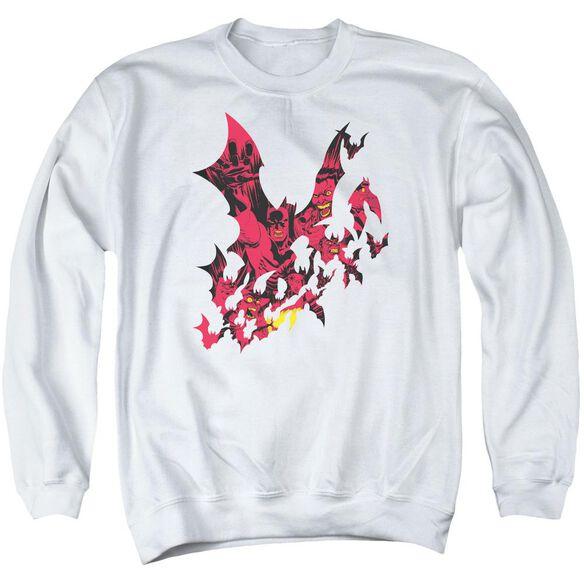 Batman Broken City Adult Crewneck Sweatshirt