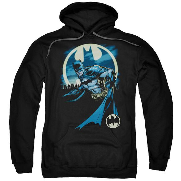 Batman Heed The Call Adult Pull Over Hoodie