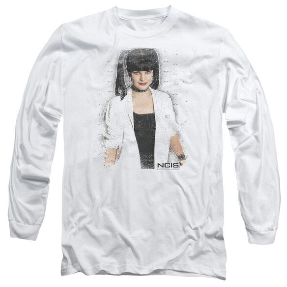 Ncis Abby Skulls Long Sleeve Adult T-Shirt