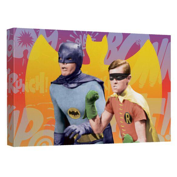 Batman Classic Tv Biff Bang Pow Quickpro Artwrap Back Board