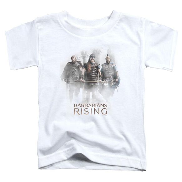 Barbarians Rising Three Barbarians Short Sleeve Toddler Tee White T-Shirt