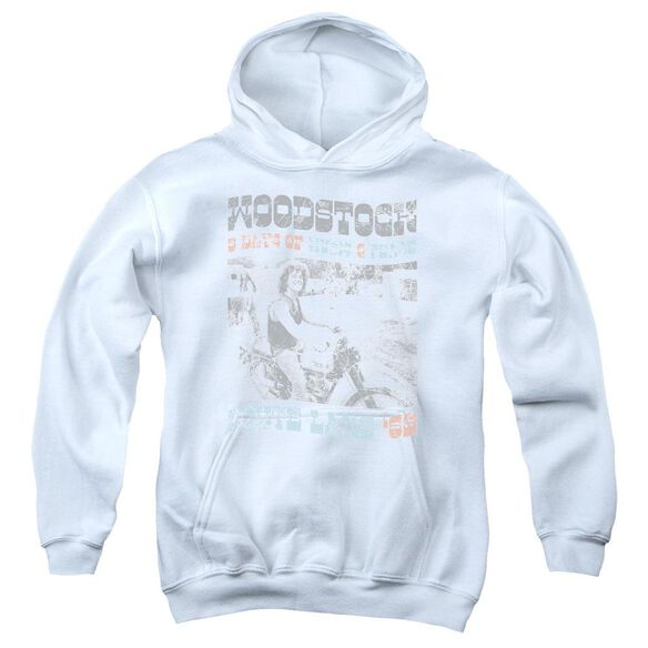 Woodstock Rider Youth Pull Over Hoodie