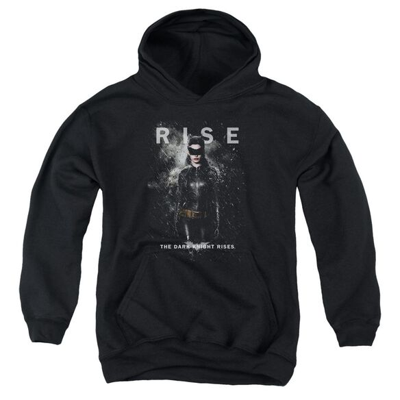 Dark Knight Rises Catwoman Rise Youth Pull Over Hoodie