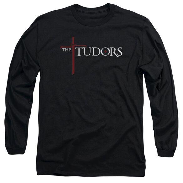 TUDORS LOGO - L/S ADULT 18/1 - BLACK T-Shirt