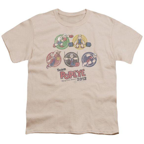 Popeye Team Popeye Short Sleeve Youth T-Shirt
