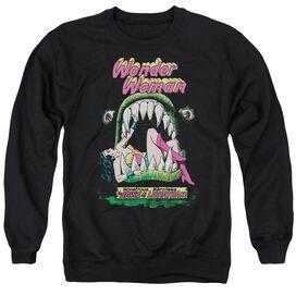 Dc Jaws - Adult Crewneck Sweatshirt - Black