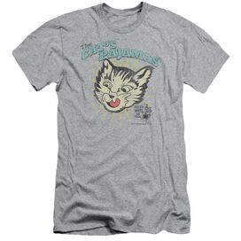 PUSS N BOOTS CATS PAJAMAS - S/S ADULT 30/1 - ATHLETIC HEATHER T-Shirt