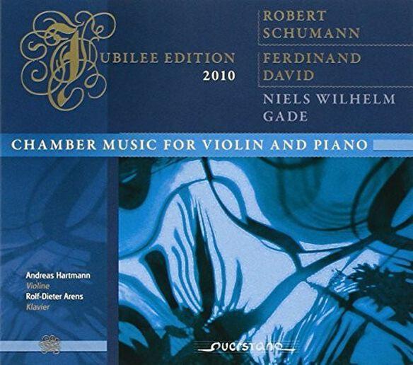Chumann/ David/ Gade/ Hartmann/ Arens - Chamber Music for Violin & Piano