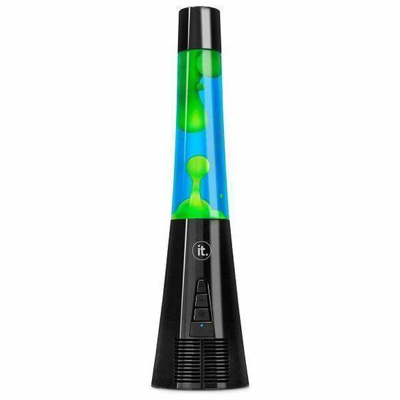 Innovative Technology Classic Groovy Bubble Lamp Bluetooth Speaker (Blue/Green)