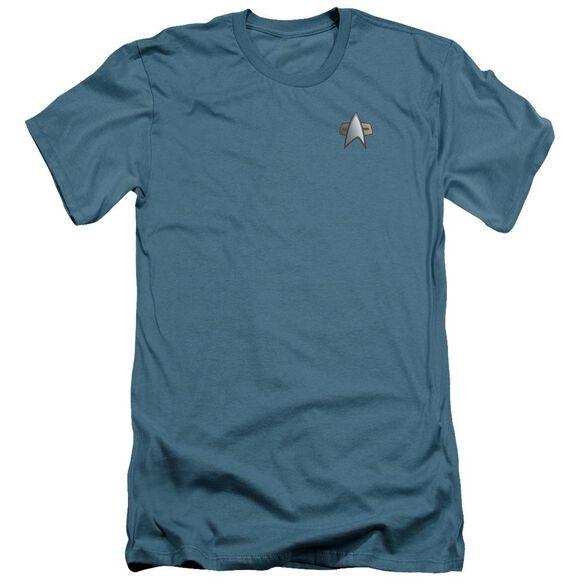 Star Trek Ds9 Science Emblem Short Sleeve Adult T-Shirt