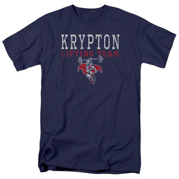 Dco Krpton Lifting Short Sleeve Adult T-Shirt