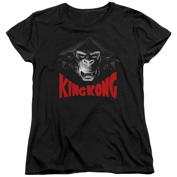 King Kong Kong Face Short Sleeve Womens Tee T-Shirt
