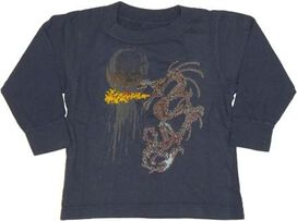 Dragon Flame Long Sleeve Infant T-Shirt