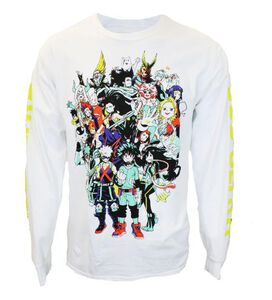 My Hero Academia Plus Ultra Long Sleeve T-Shirt