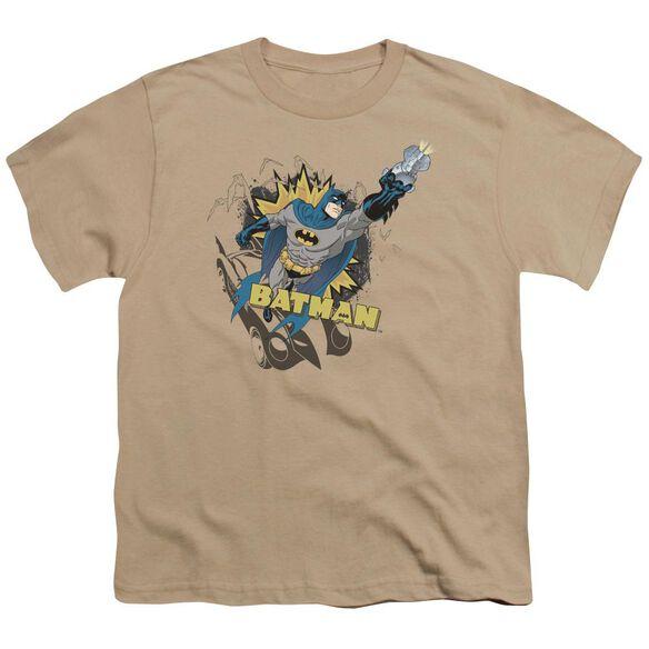 Batman Heroic To The Bone Short Sleeve Youth T-Shirt