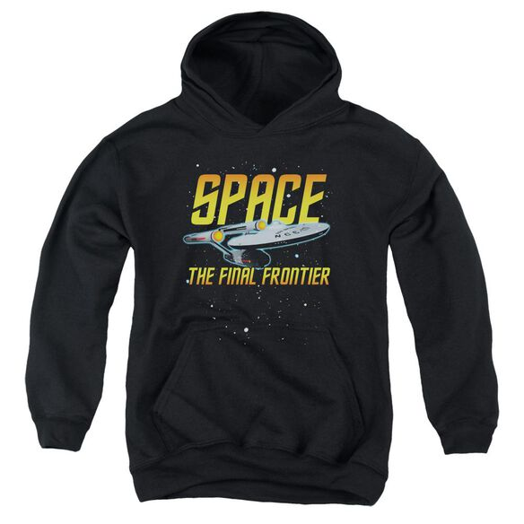 Star Trek Space Youth Pull Over Hoodie