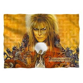 Labyrinth Crystal Ball Pillow Case White