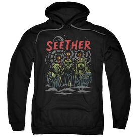 Seether Mind Control Adult Pull Over Hoodie