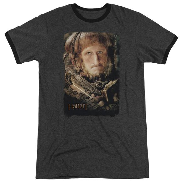 The Hobbit Ori Adult Heather Ringer Charcoal