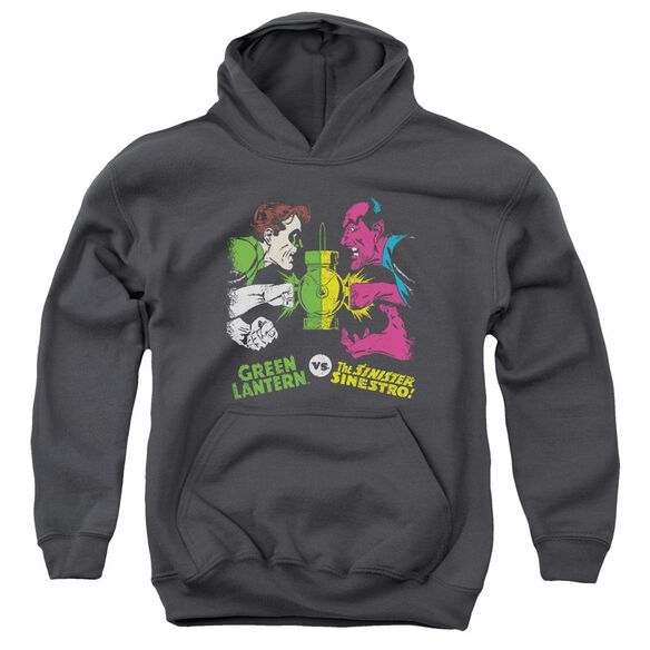 Dc Gl Vs Sinestro Youth Pull Over Hoodie
