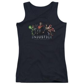 Injustice Gods Among Us Injustice League Juniors Tank Top