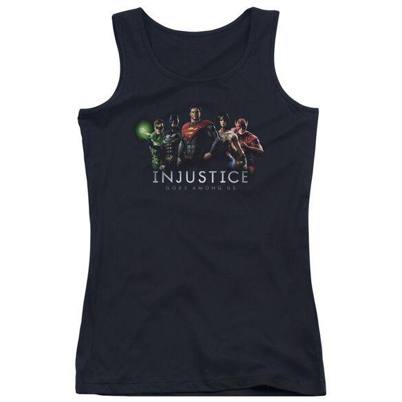 Injustice Gods Among Us Injustice League Juniors Tank Top