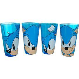 Sonic the Hedgehog Pint Glass Set