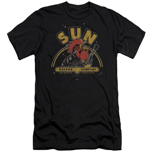 Sun Rocking Rooster Premuim Canvas Adult Slim Fit