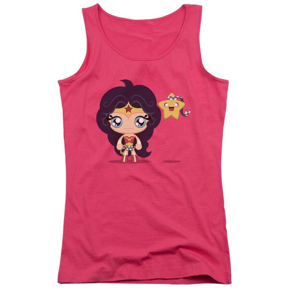 Jla Cute Wonder Woman Juniors Tank Top Hot
