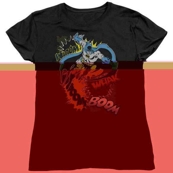 BATMAN BAT EFFECTS - S/S WOMENS TEE - BLACK T-Shirt