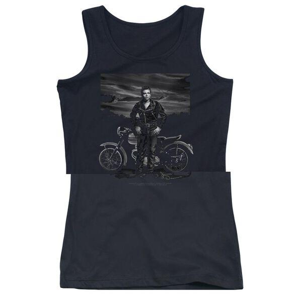 Dean Rebel Rider - Juniors Tank Top - Black