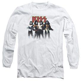 KISS THROWBACK POSE-L/S T-Shirt
